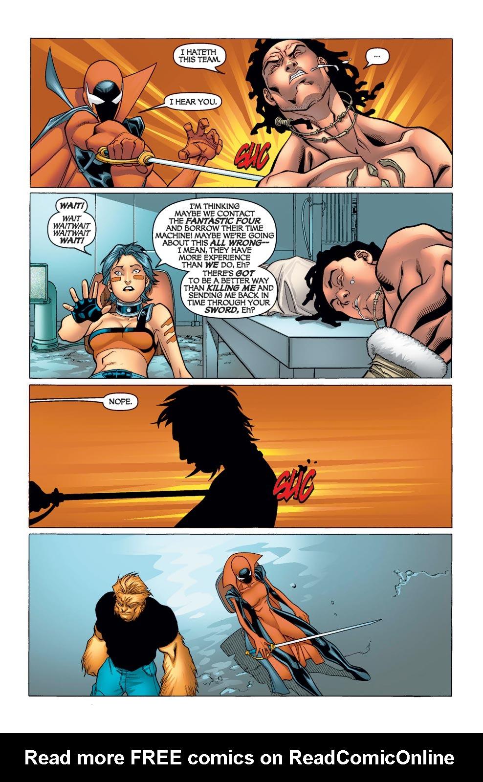 Read online Alpha Flight (2004) comic -  Issue #11 - 8