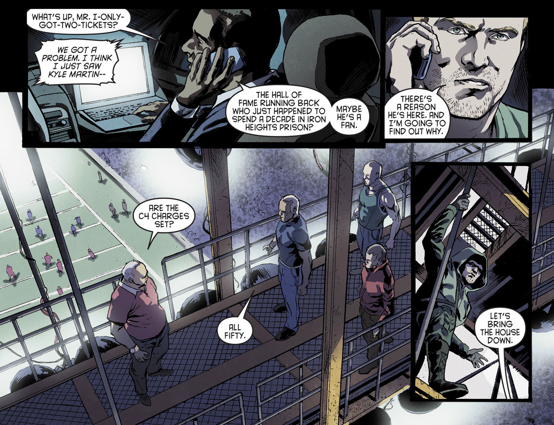 Read online Arrow [II] comic -  Issue #17 - 6