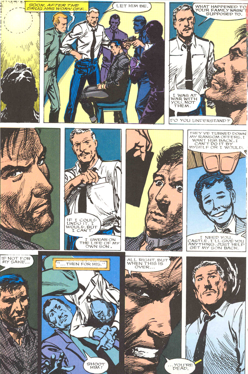 The Punisher Movie Special issue Full - Page 54