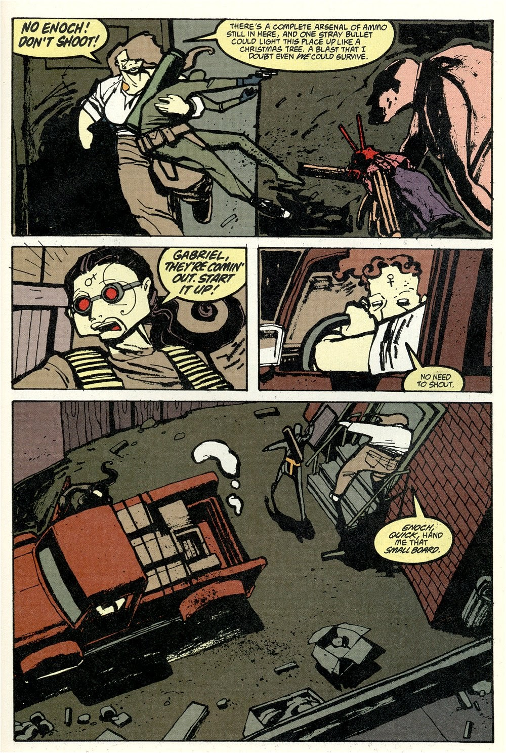 Read online Ted McKeever's Metropol comic -  Issue #11 - 17