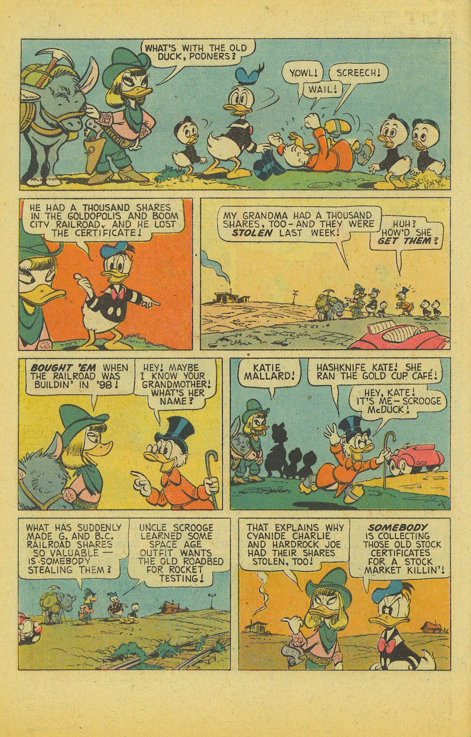 Read online Uncle Scrooge (1953) comic -  Issue #122 - 6