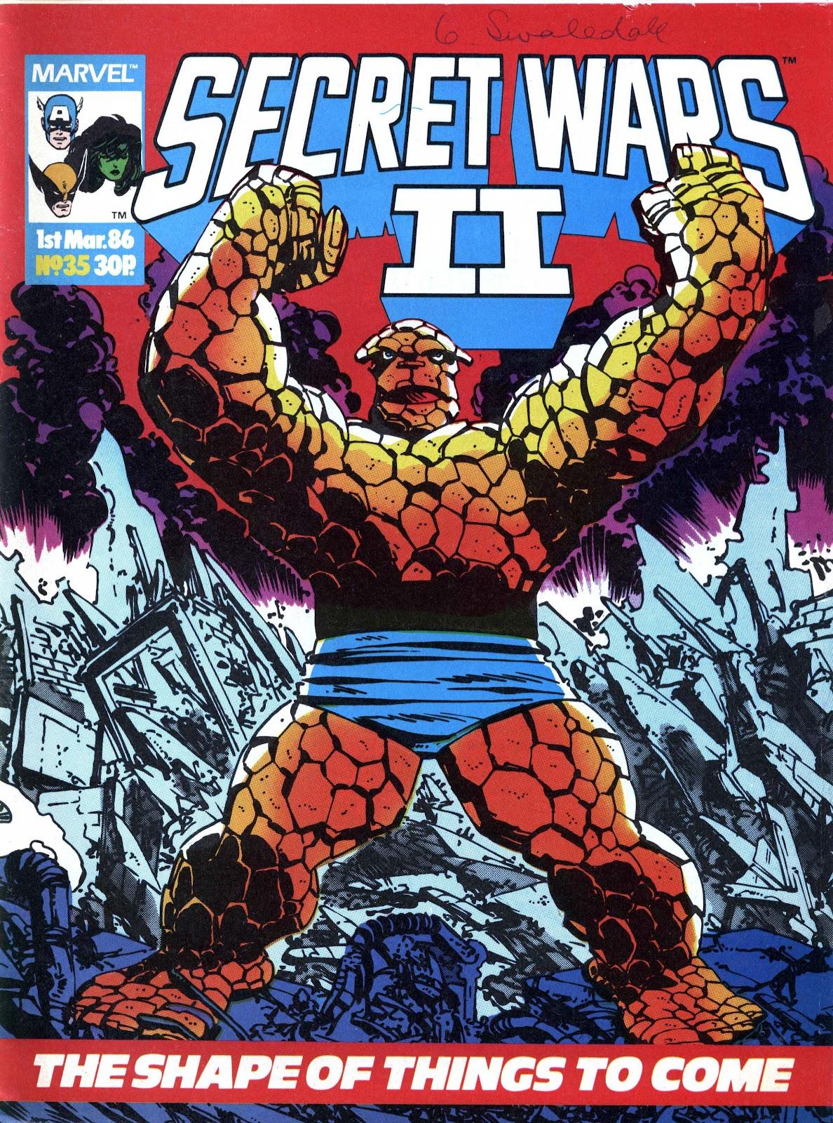 Secret Wars (1985) issue 35 - Page 1