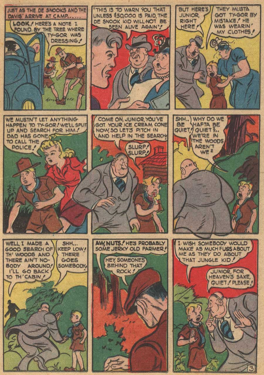 Blue Ribbon Comics (1939) issue 16 - Page 41