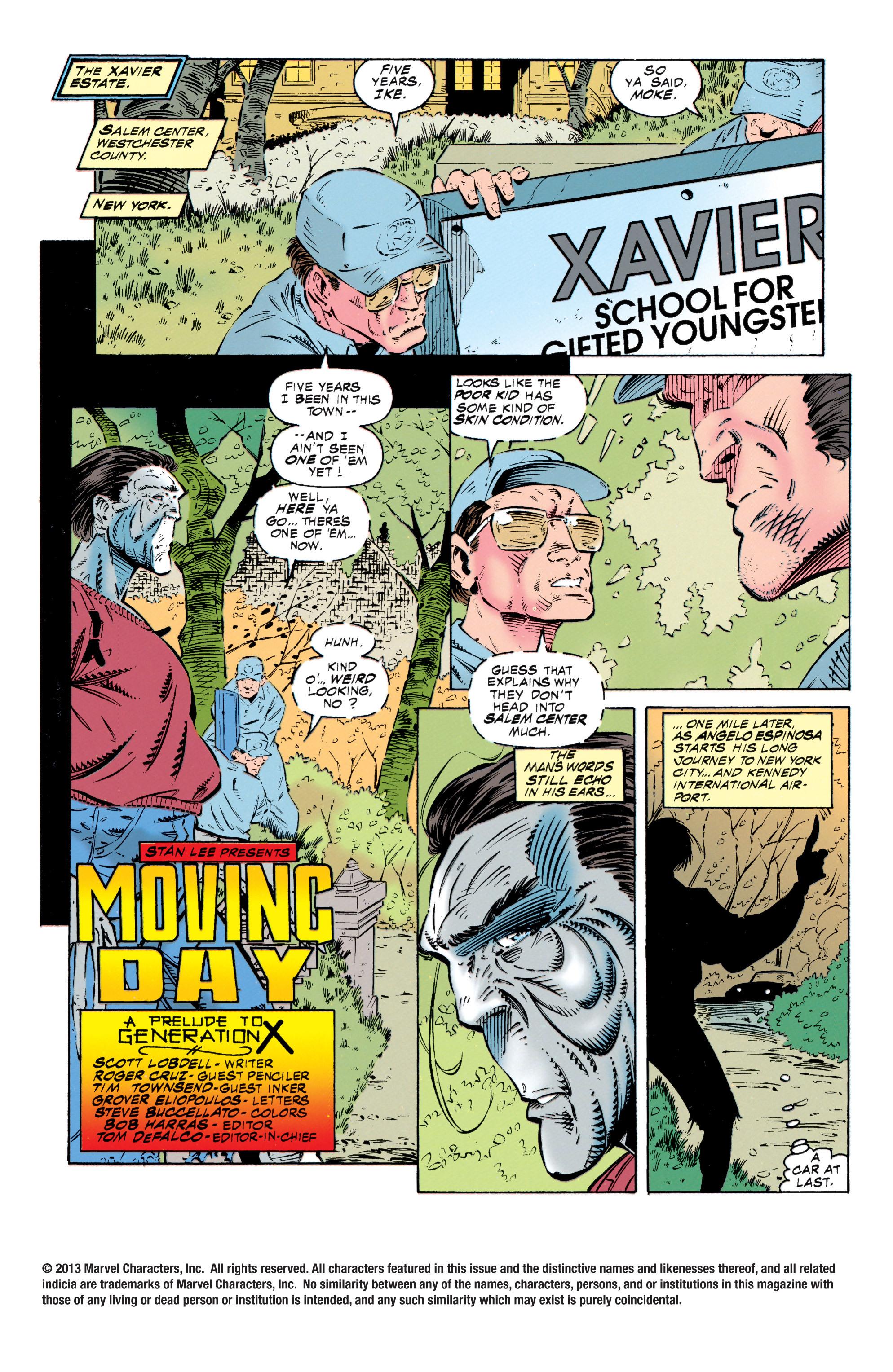 Read online Uncanny X-Men (1963) comic -  Issue #318 - 2