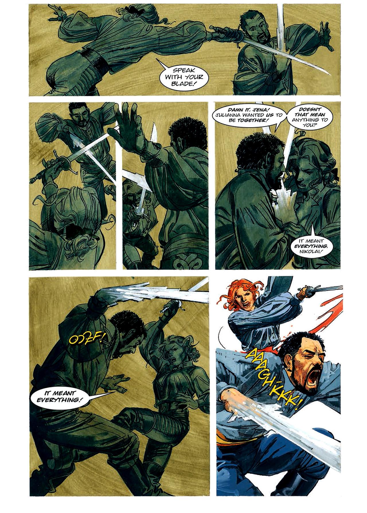 Read online Nikolai Dante comic -  Issue # TPB 4 - 92