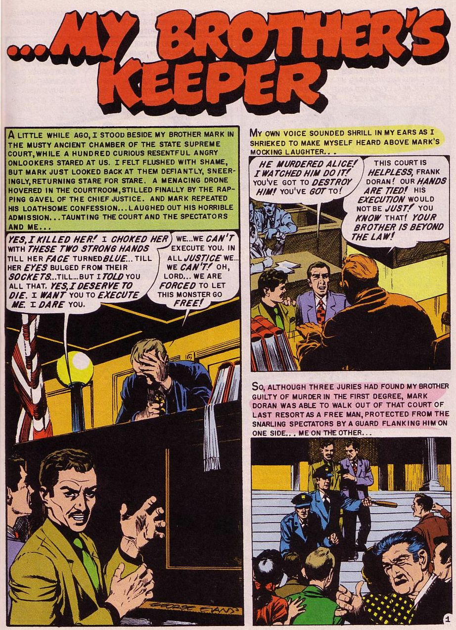 Read online Shock SuspenStories comic -  Issue #16 - 2