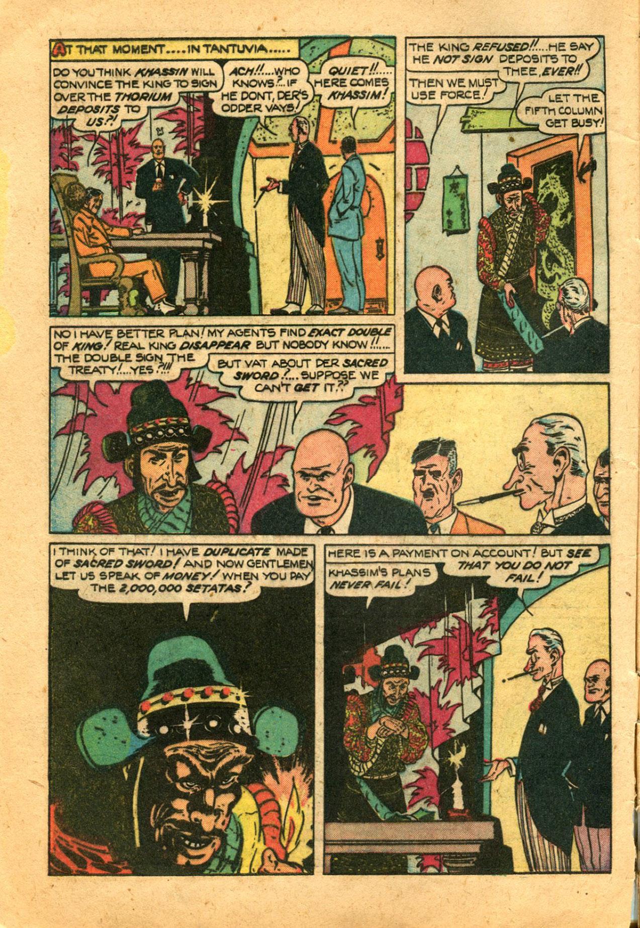 Read online Shadow Comics comic -  Issue #78 - 6
