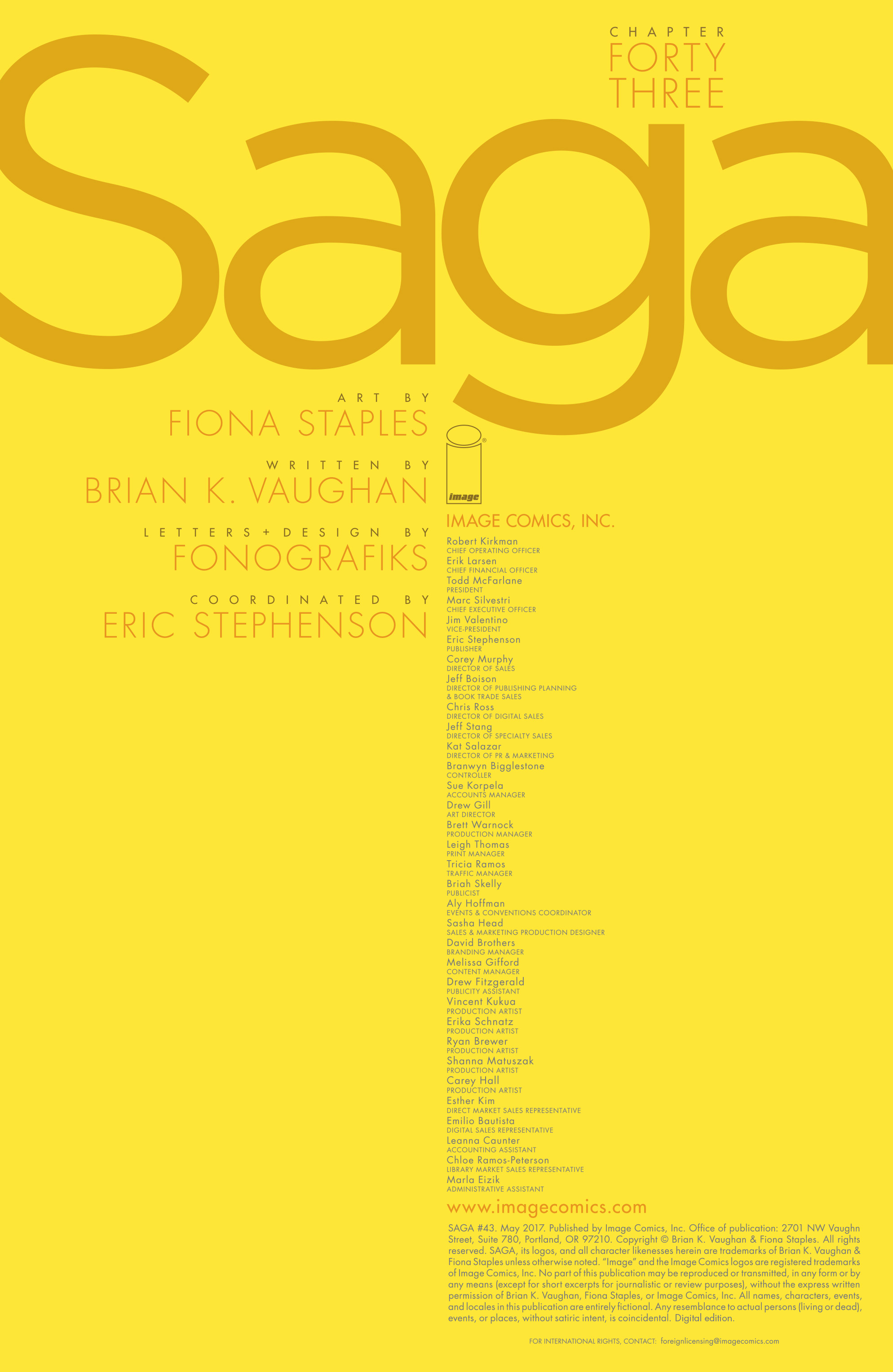 Read online Saga comic -  Issue #43 - 2