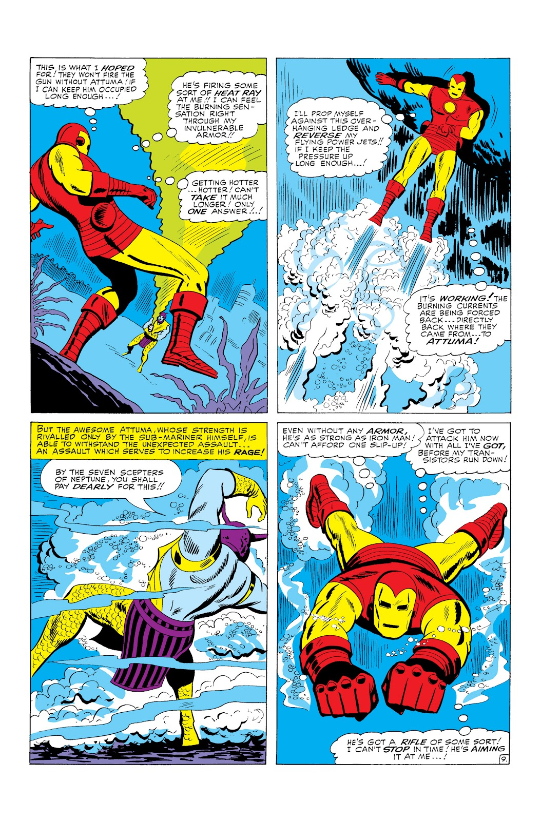Read online Marvel Masterworks: The Invincible Iron Man comic -  Issue # TPB 3 (Part 1) - 12