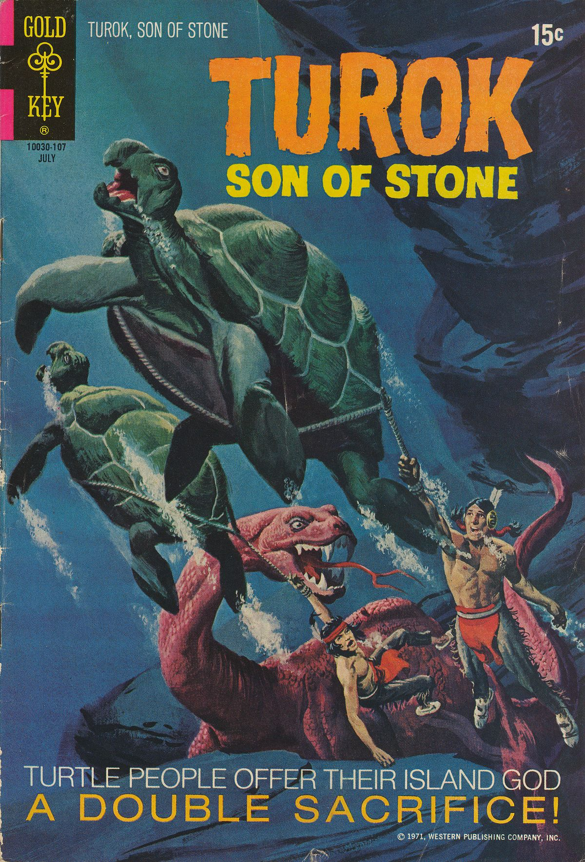 Read online Turok, Son of Stone comic -  Issue #74 - 1