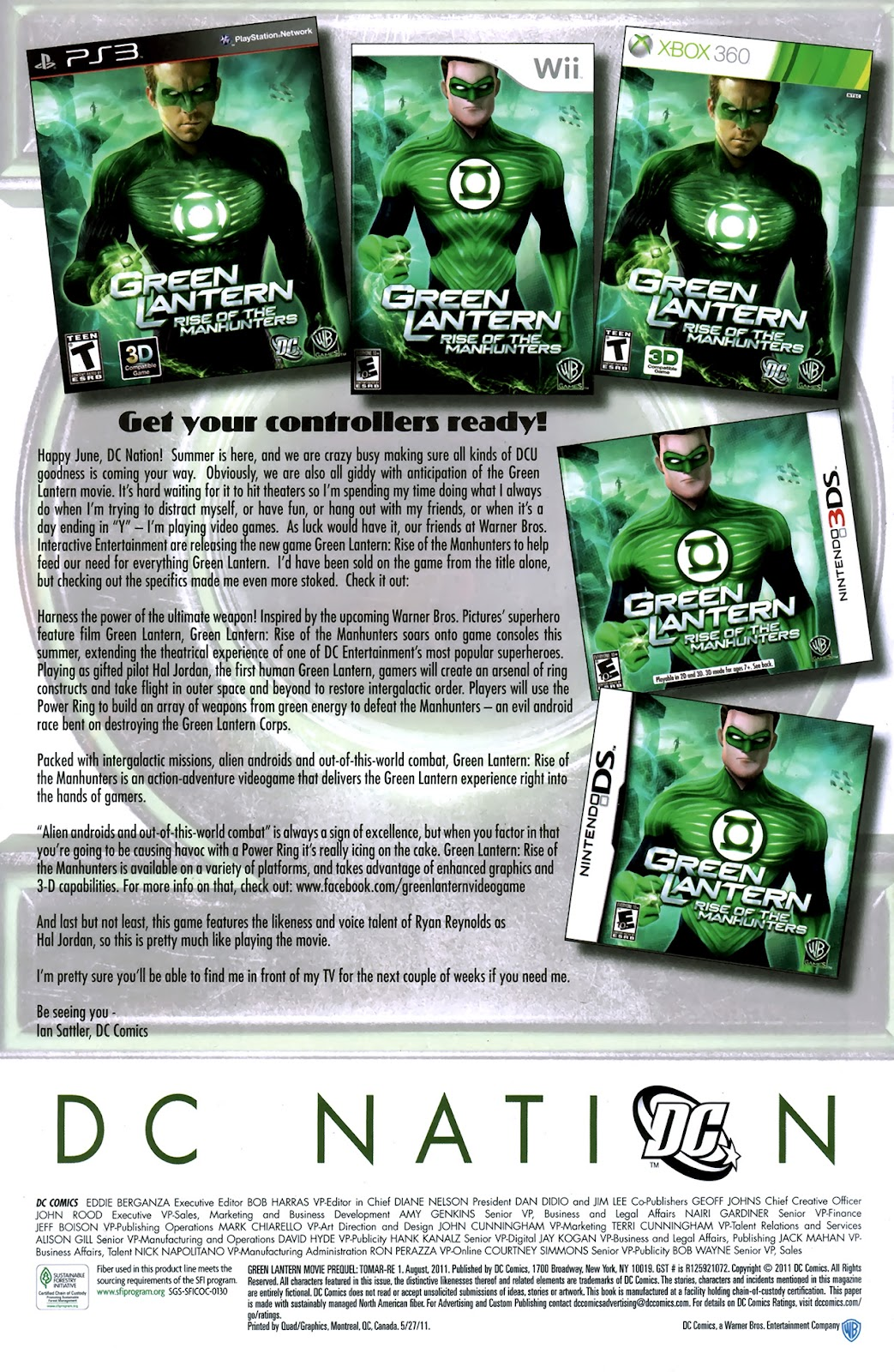 Read online Green Lantern Movie Prequel: Tomar-Re comic -  Issue # Full - 21