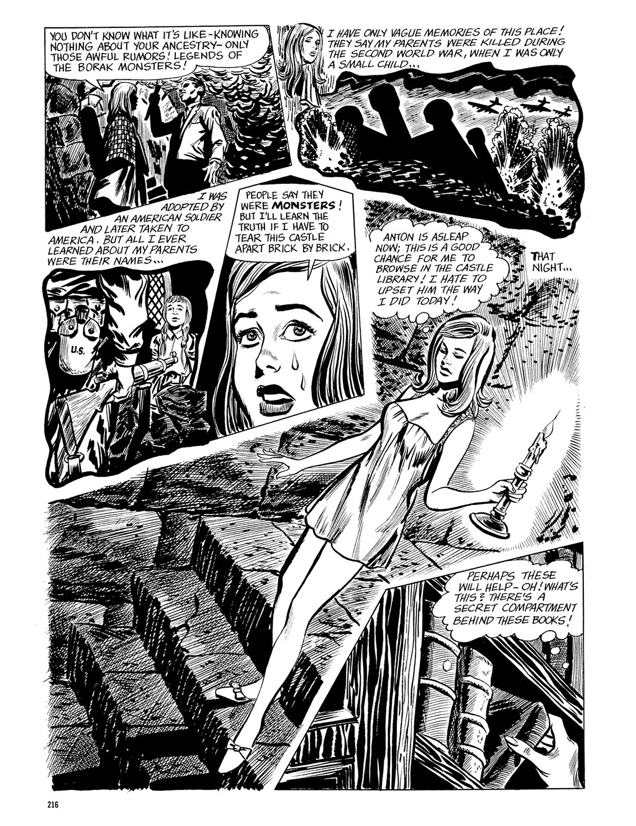 Read online Eerie Archives comic -  Issue # TPB 4 - 216