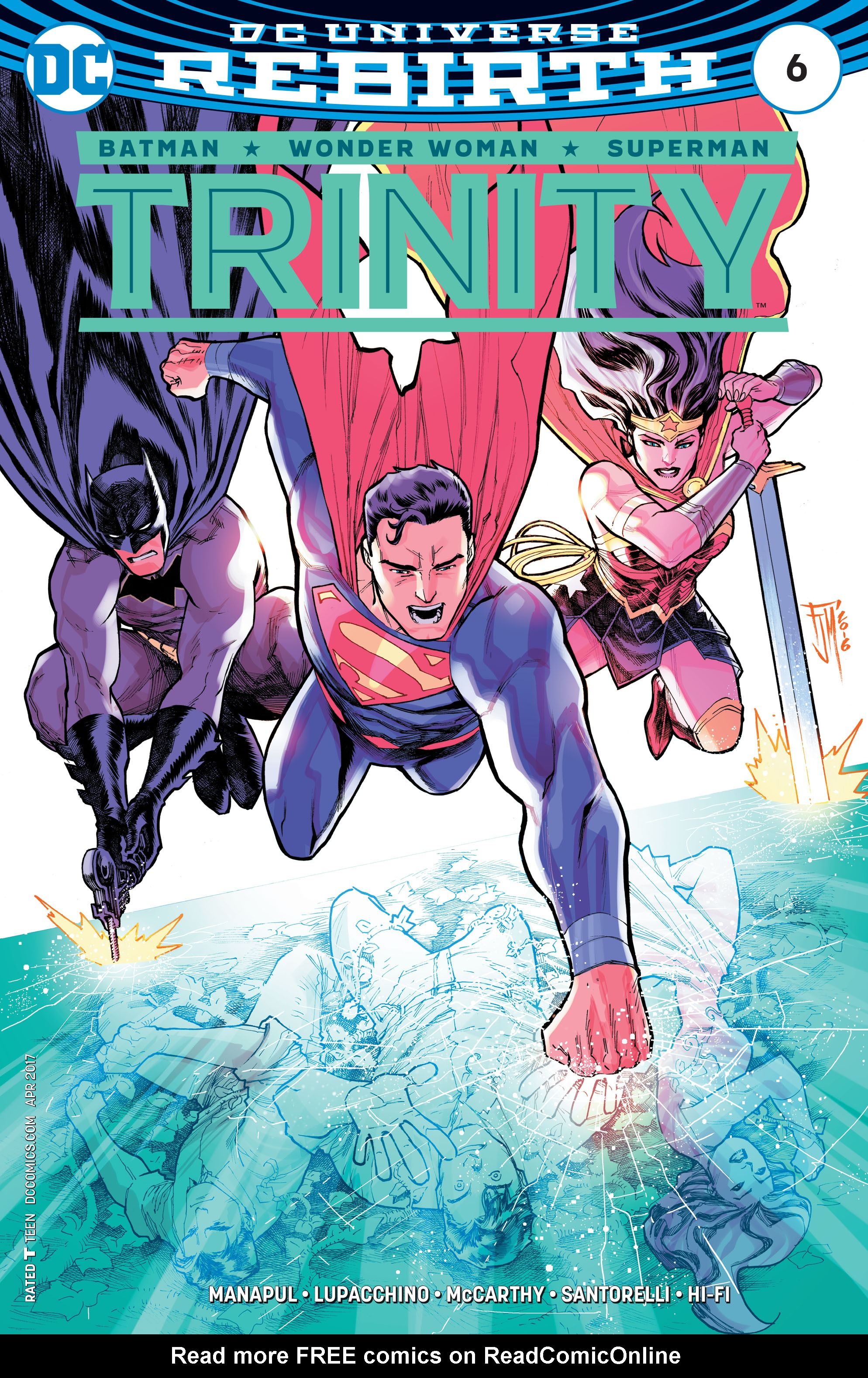Read online Trinity (2016) comic -  Issue #6 - 1