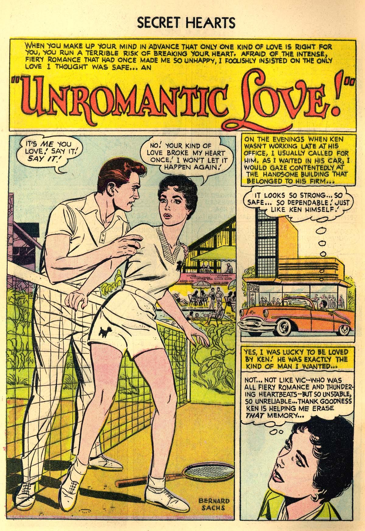 Read online Secret Hearts comic -  Issue #30 - 10