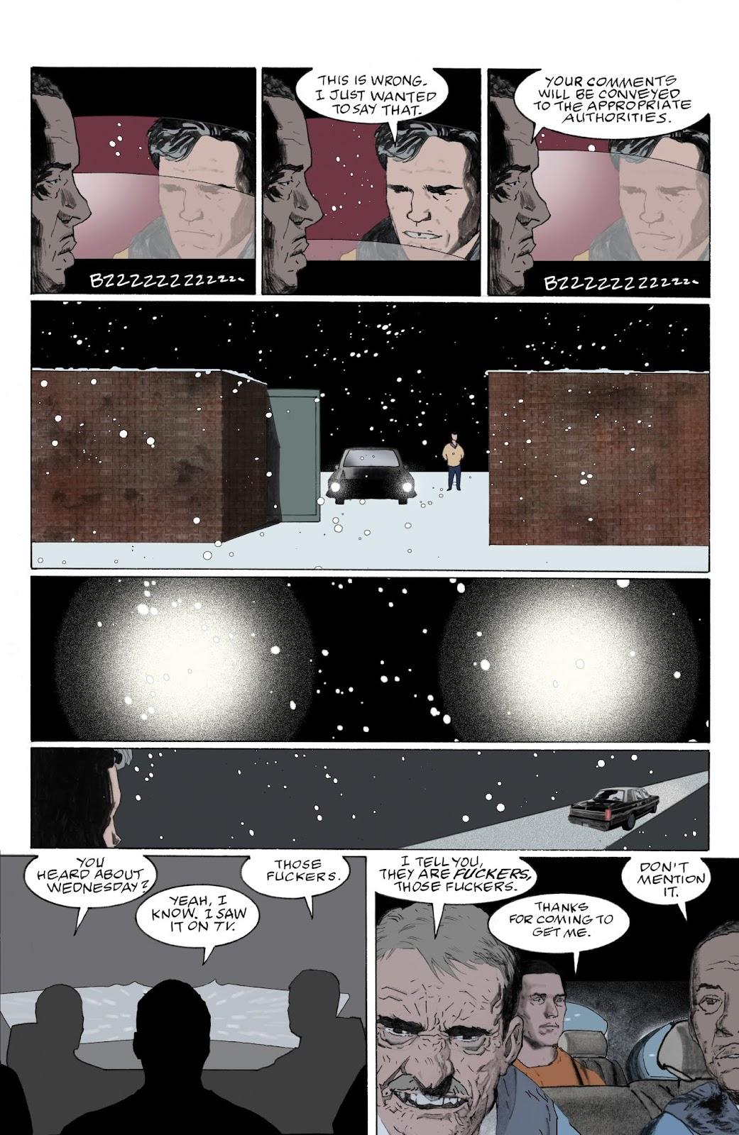 American Gods: My Ainsel issue 9 - Page 17