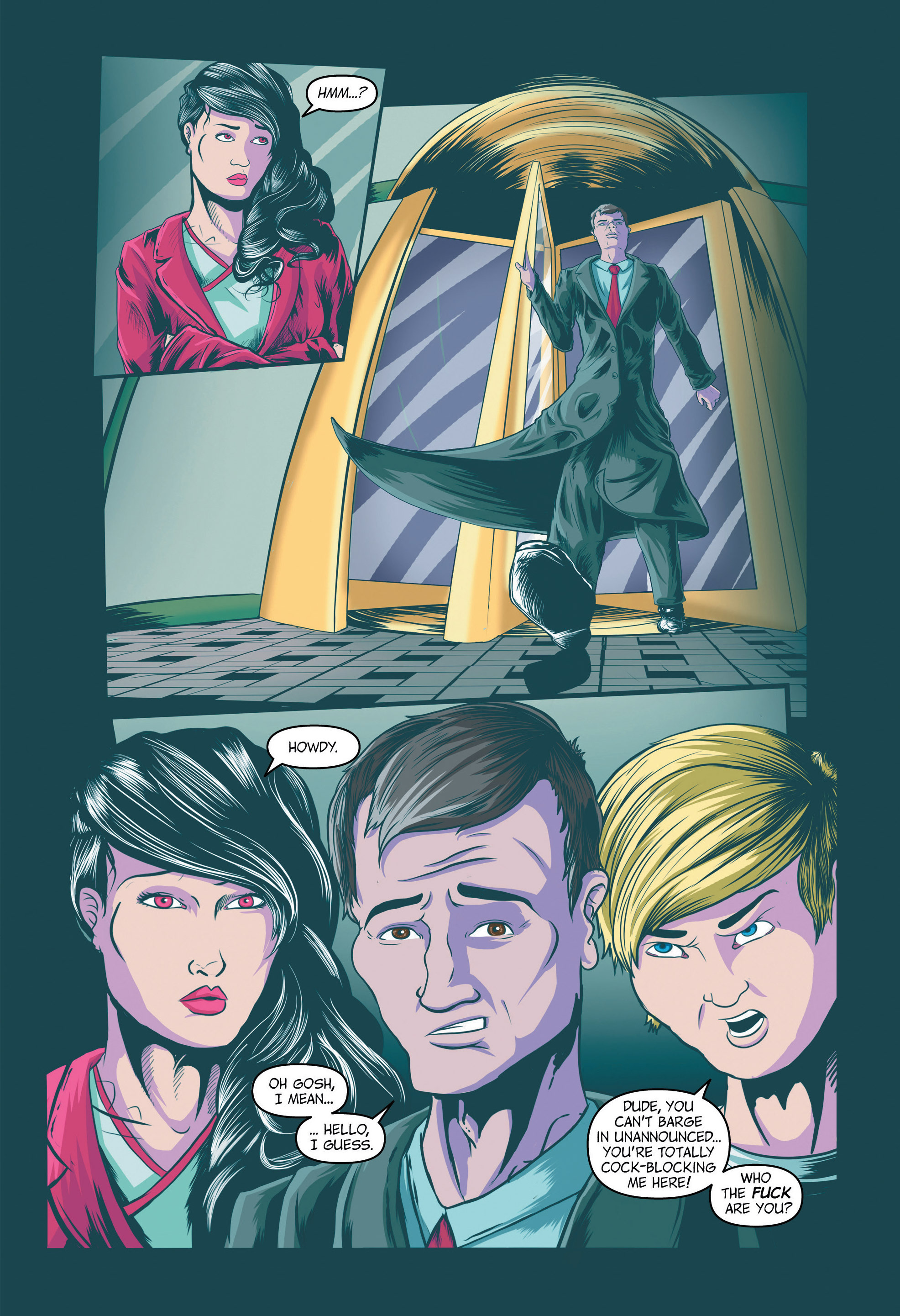 Read online Redemption Heights comic -  Issue # Full - 18