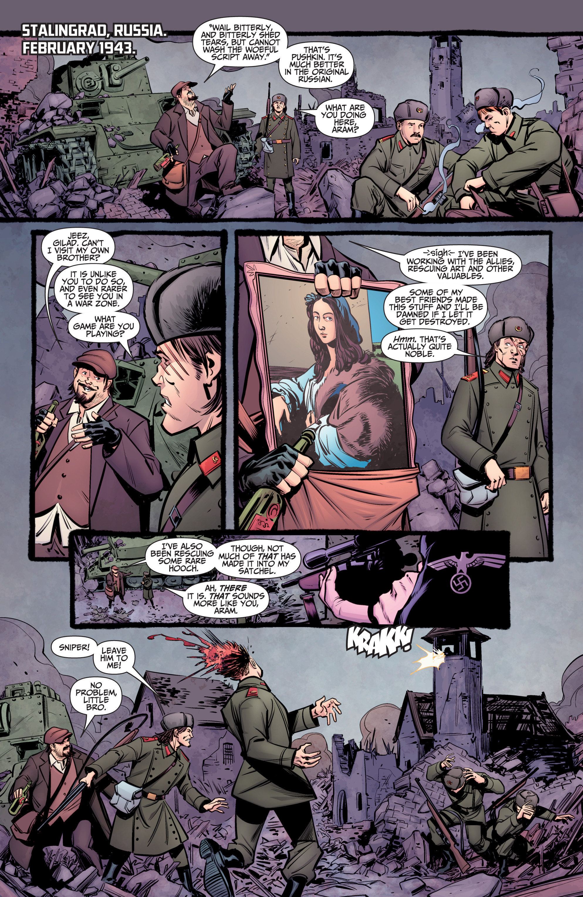 Read online A&A: The Adventures of Archer & Armstrong comic -  Issue #8 - 3
