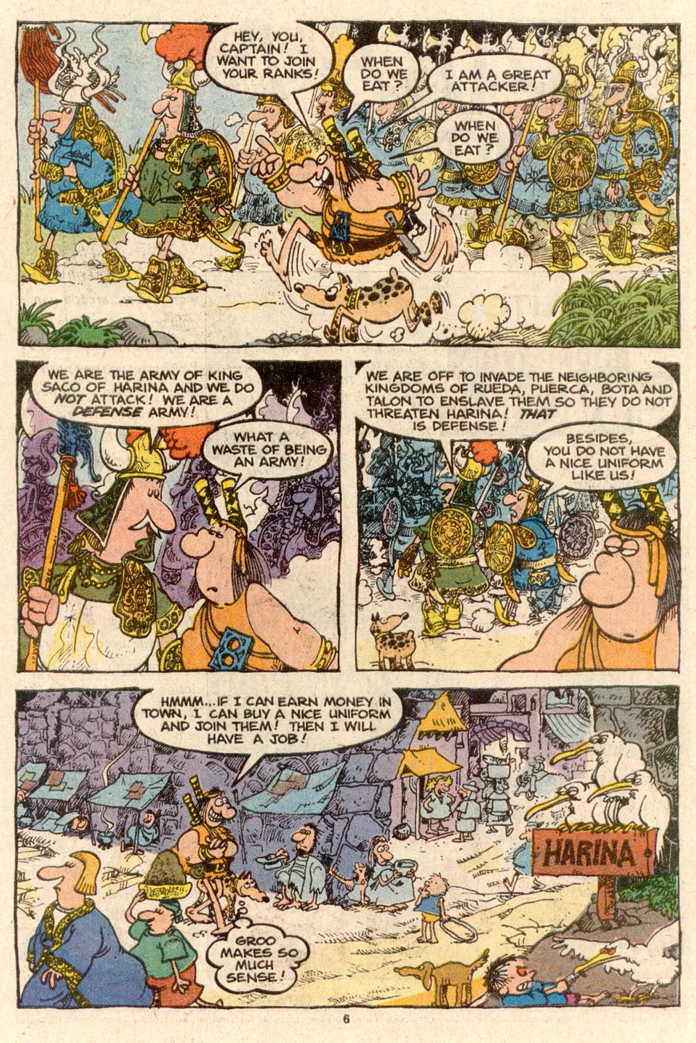 Read online Sergio Aragonés Groo the Wanderer comic -  Issue #60 - 6