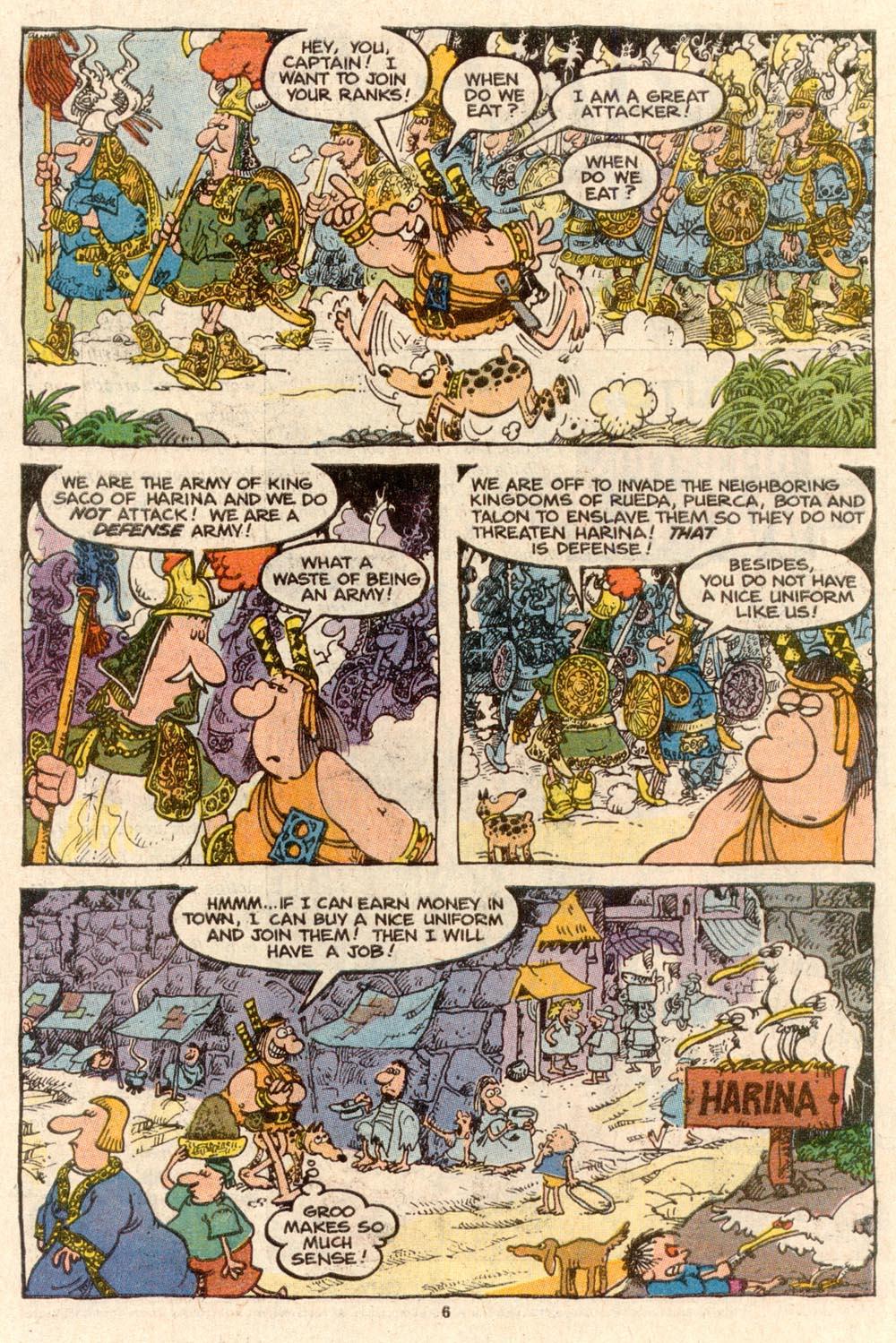 Read online Sergio Aragonés Groo the Wanderer comic -  Issue #60 - 6