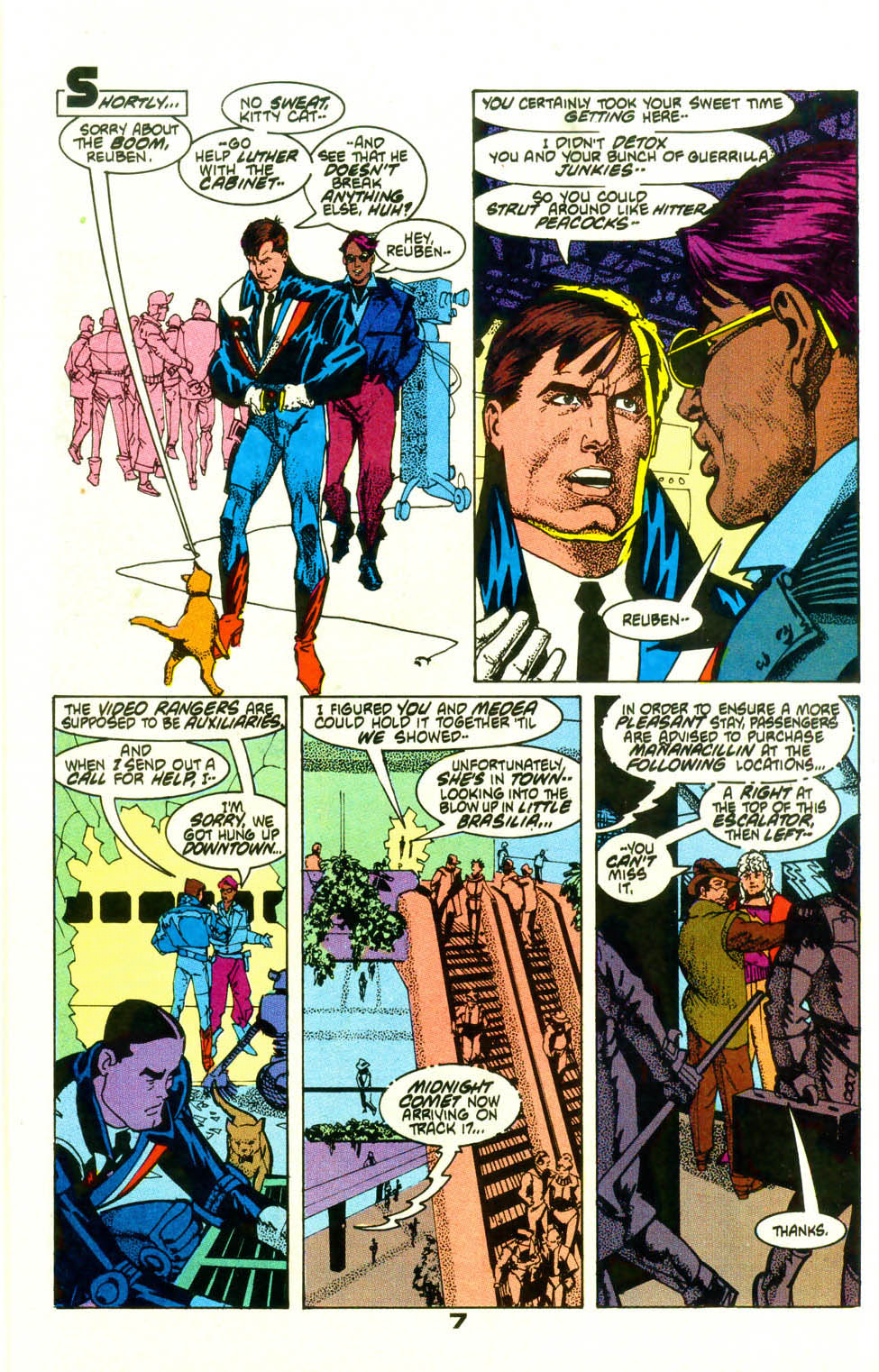 Read online American Flagg! comic -  Issue #19 - 9