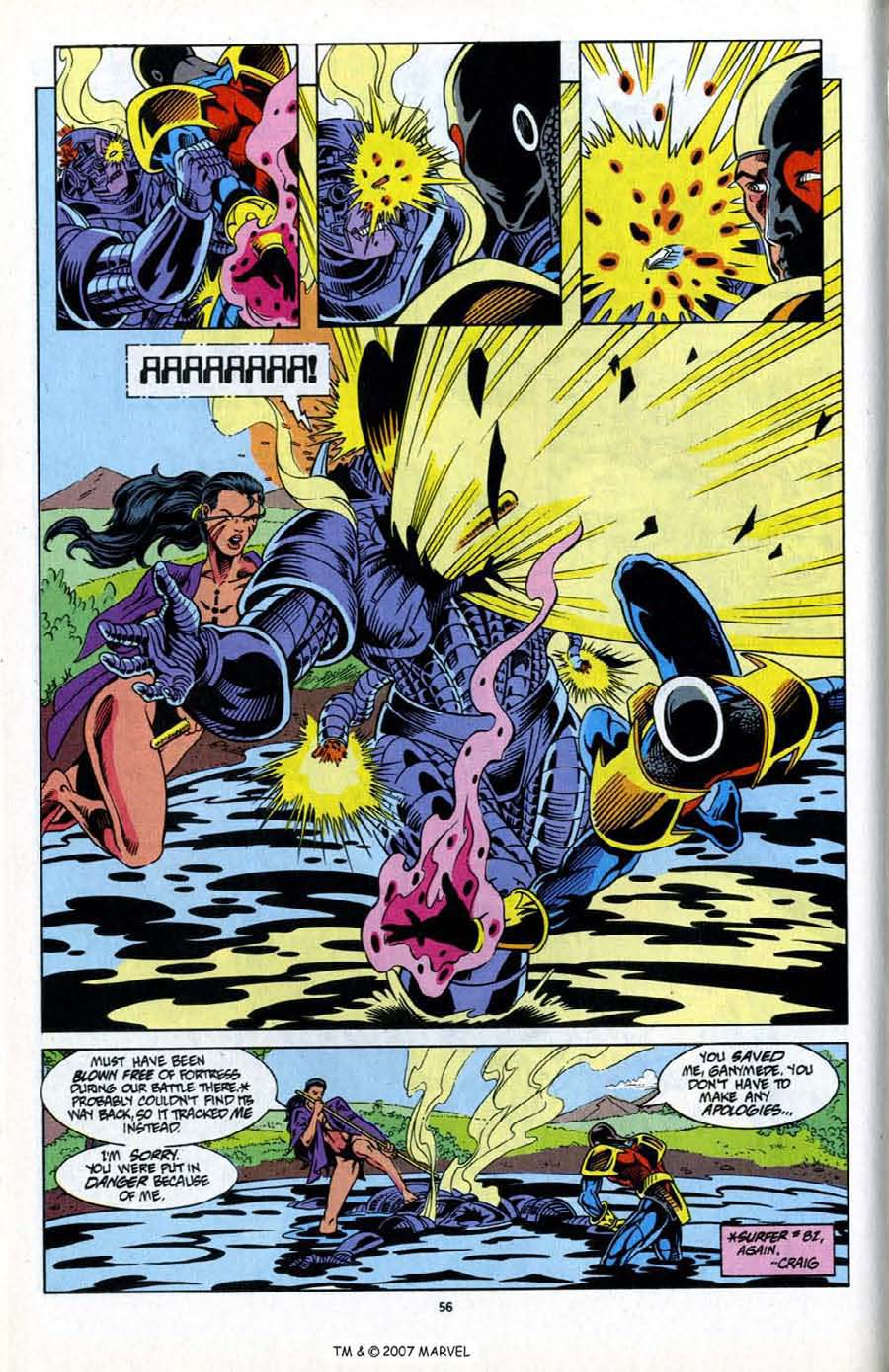 Read online Silver Surfer (1987) comic -  Issue # _Annual 6 - 58