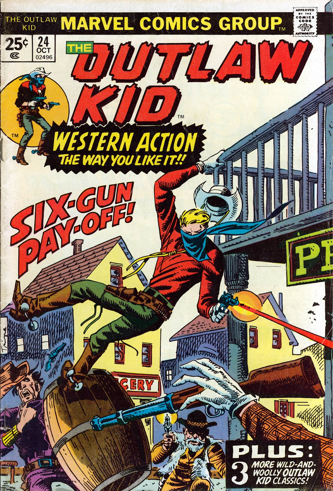 The Outlaw Kid (1970) issue 24 - Page 1