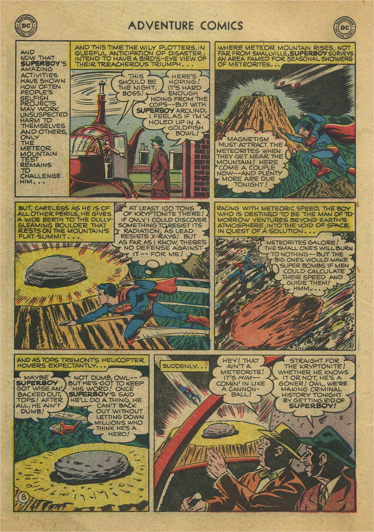 Read online Adventure Comics (1938) comic -  Issue #171 - 10