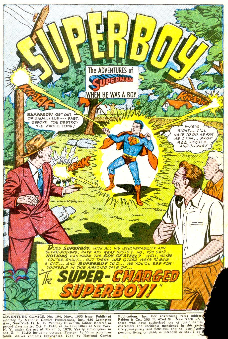 Read online Adventure Comics (1938) comic -  Issue #194 - 3