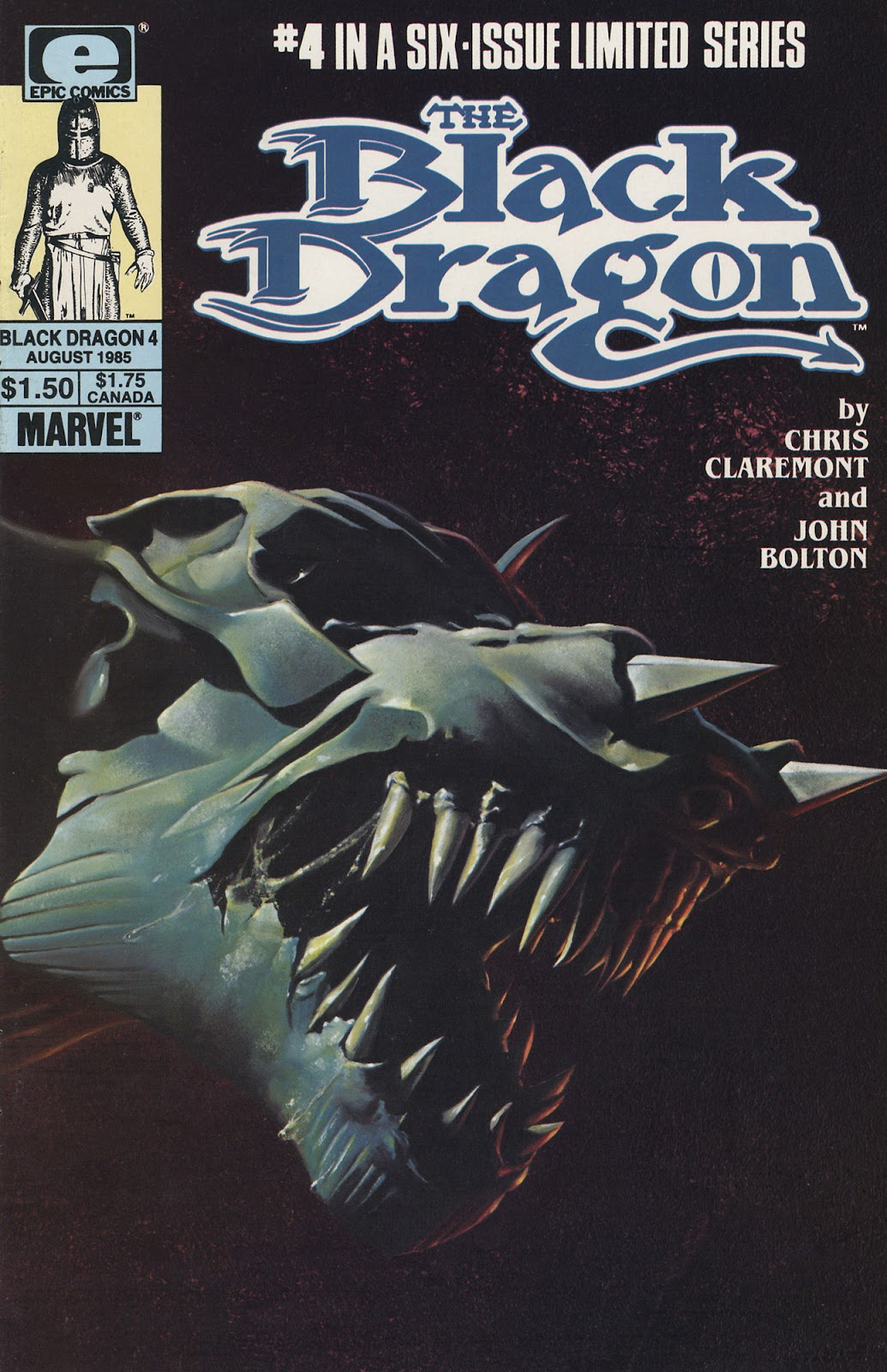 The Black Dragon (1985) issue 4 - Page 1