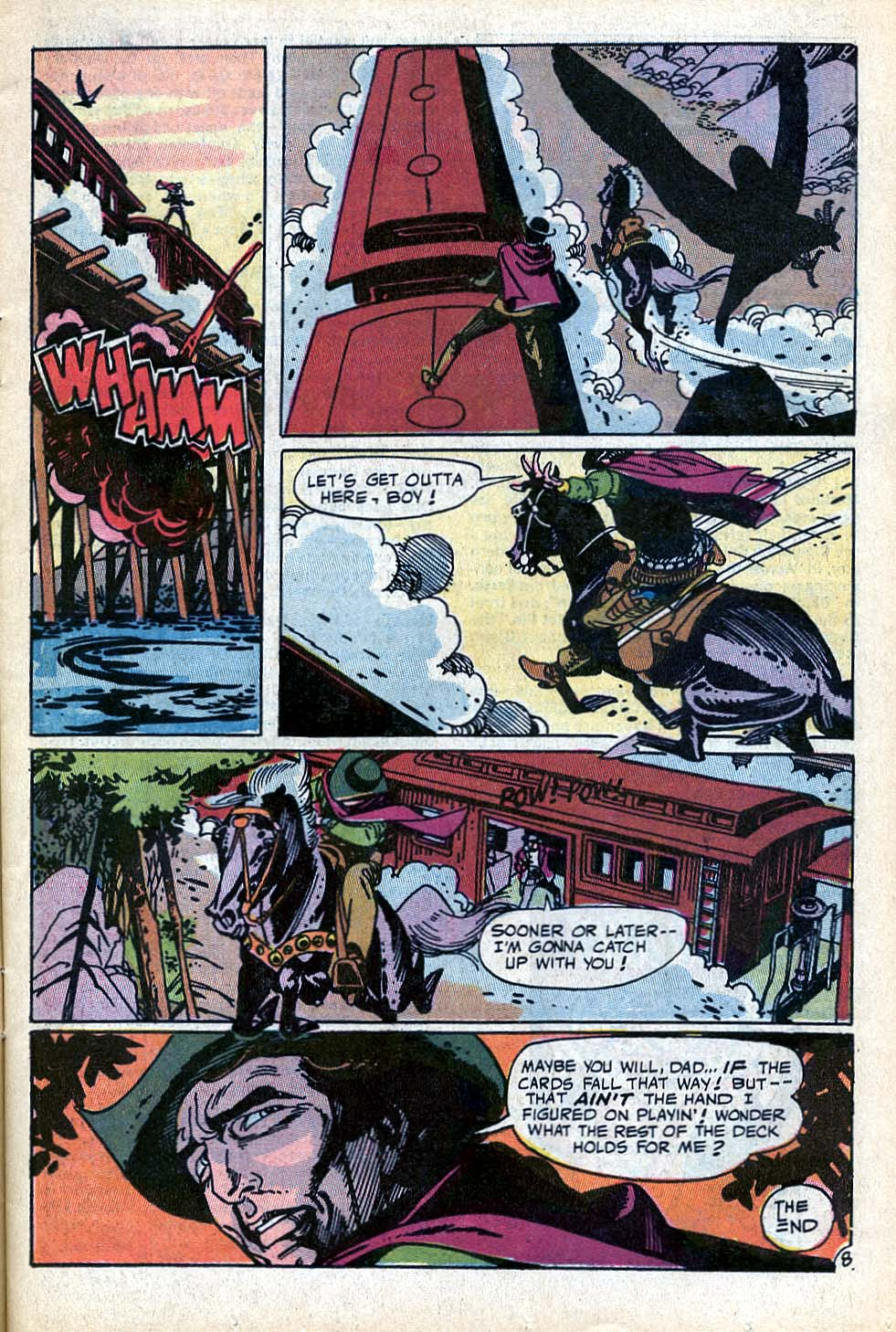 Read online All-Star Western (1970) comic -  Issue #3 - 9
