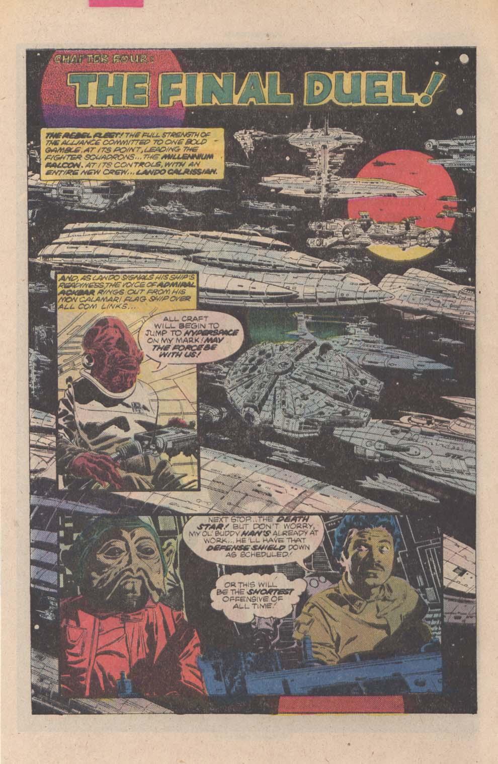 Read online Star Wars: Return of the Jedi comic -  Issue #4 - 4