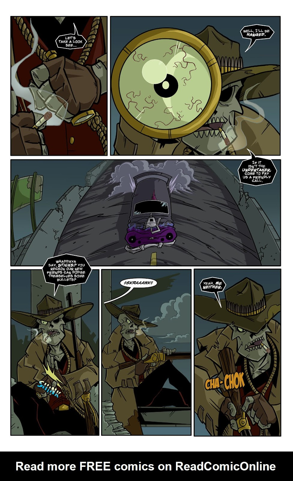 Read online Xombie Reanimated comic -  Issue #3 - 15