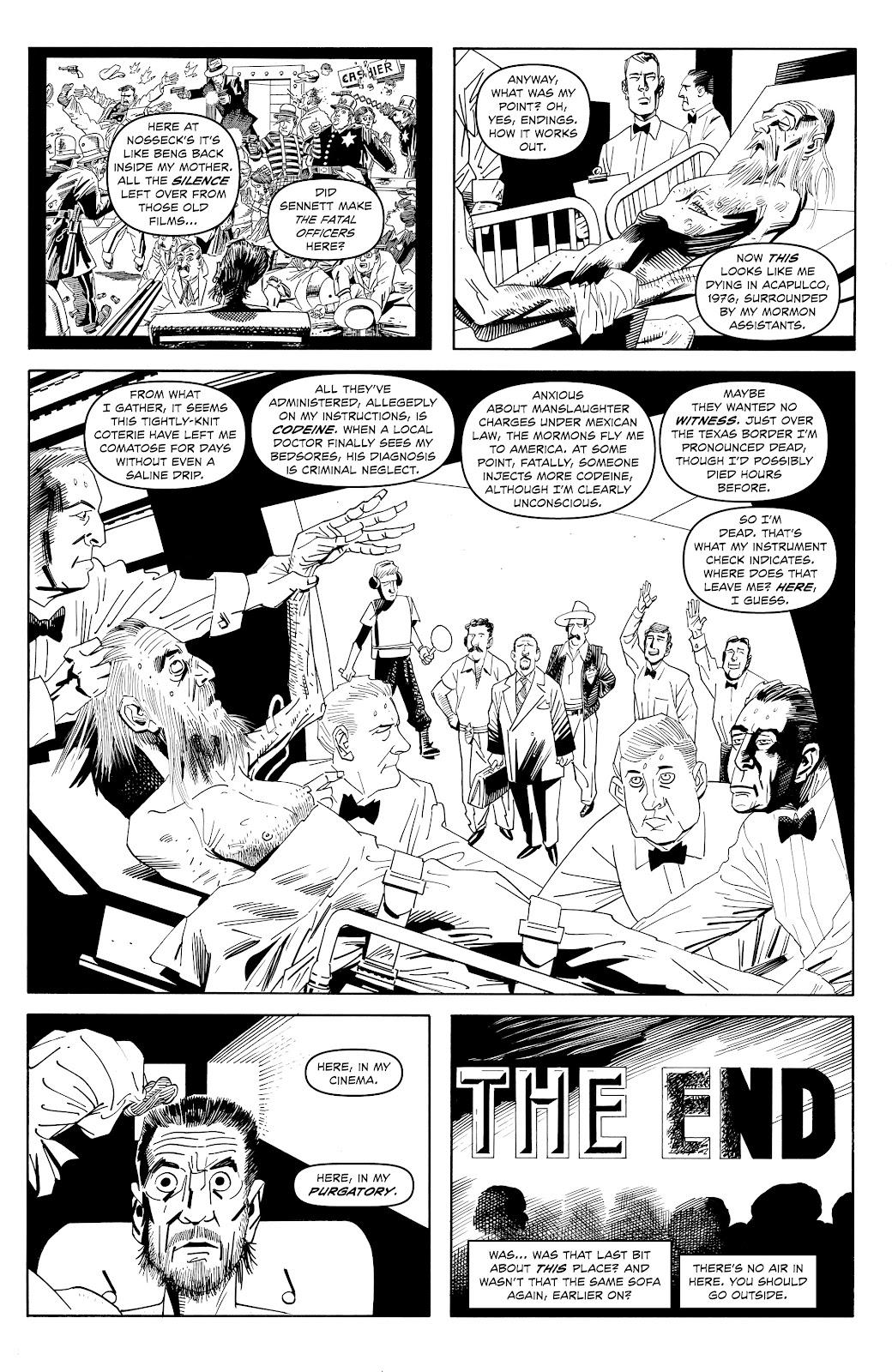 Read online Alan Moore's Cinema Purgatorio comic -  Issue #17 - 11
