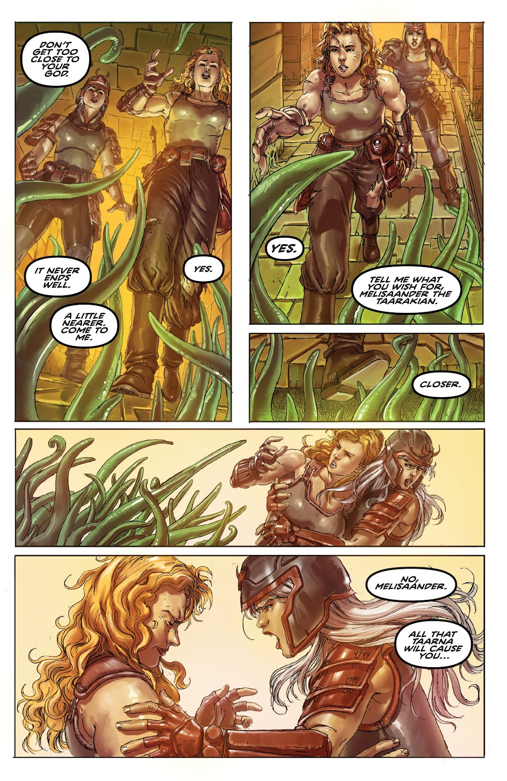 Read online Taarna comic -  Issue #4 - 4