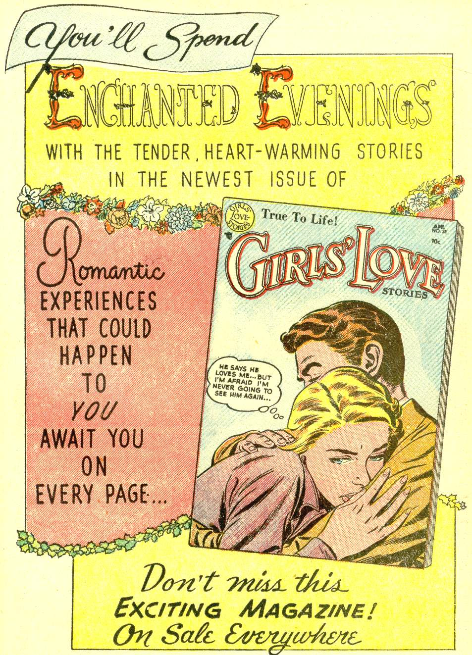 Read online Secret Hearts comic -  Issue #21 - 17