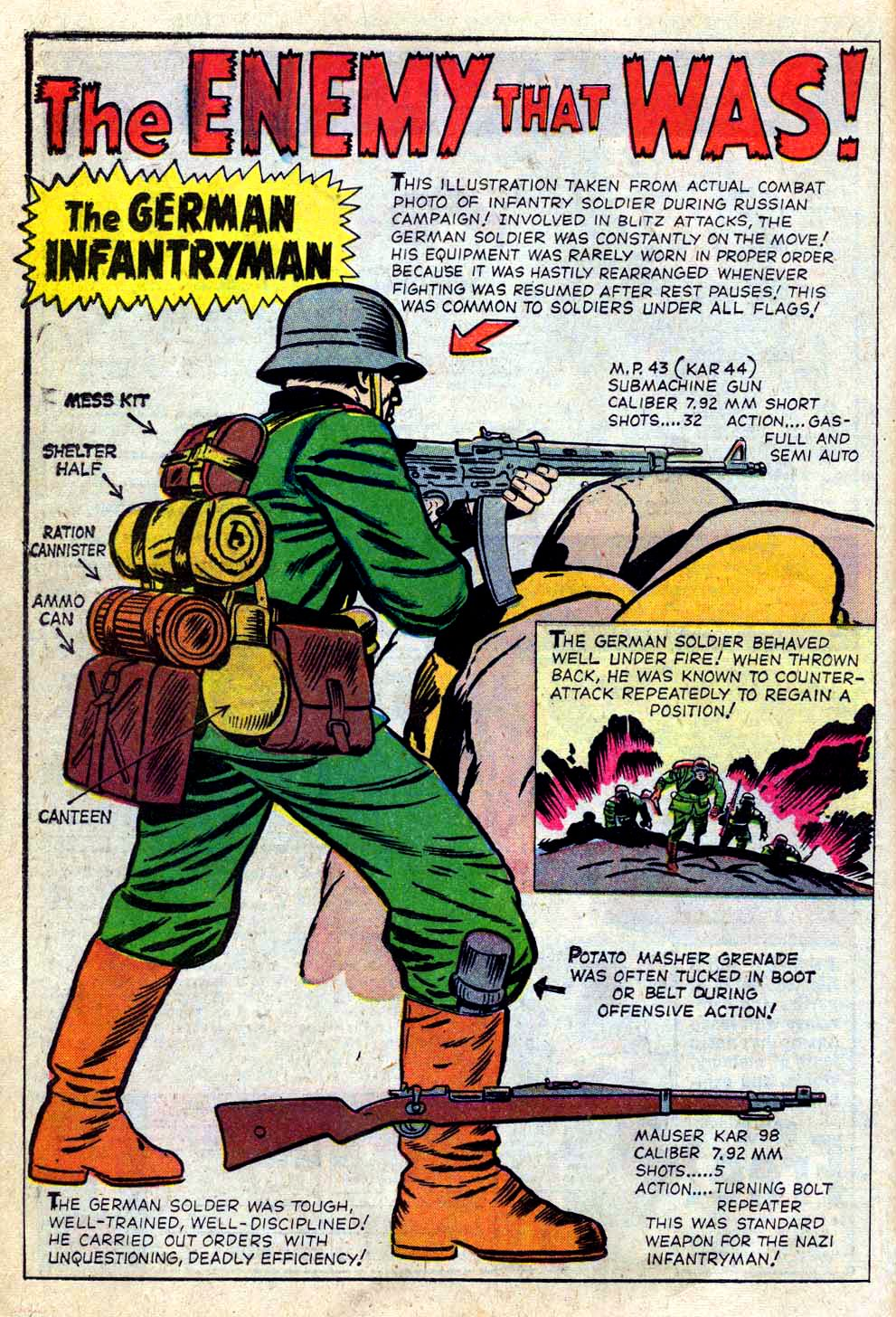 Read online Sgt. Fury comic -  Issue #2 - 26