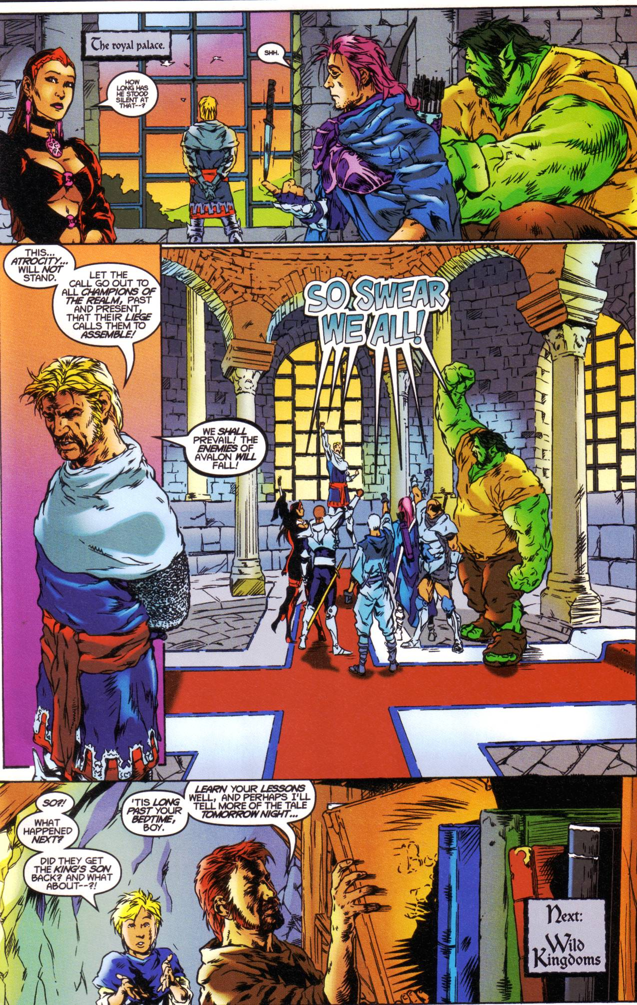 Read online Avataars: Covenant of the Shield comic -  Issue #1 - 22
