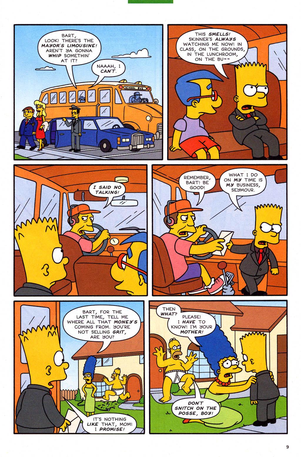 Read online Simpsons Comics Presents Bart Simpson comic -  Issue #23 - 11