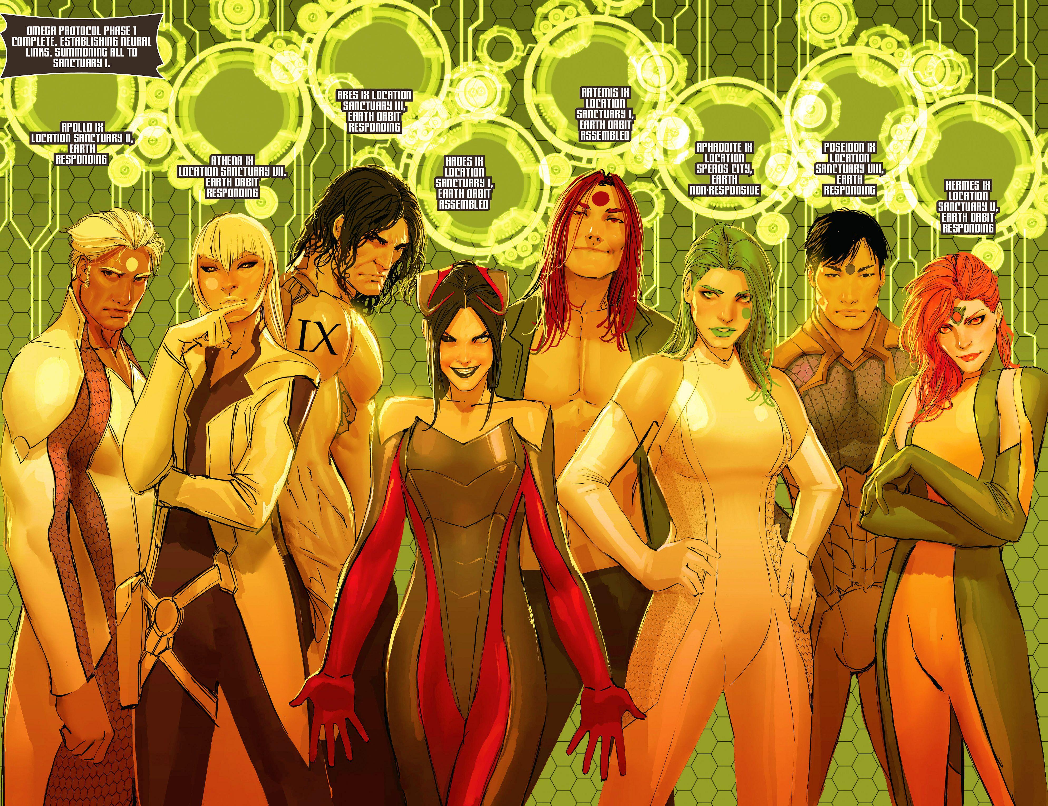 Read online Aphrodite IX (2013) comic -  Issue #9 - 11