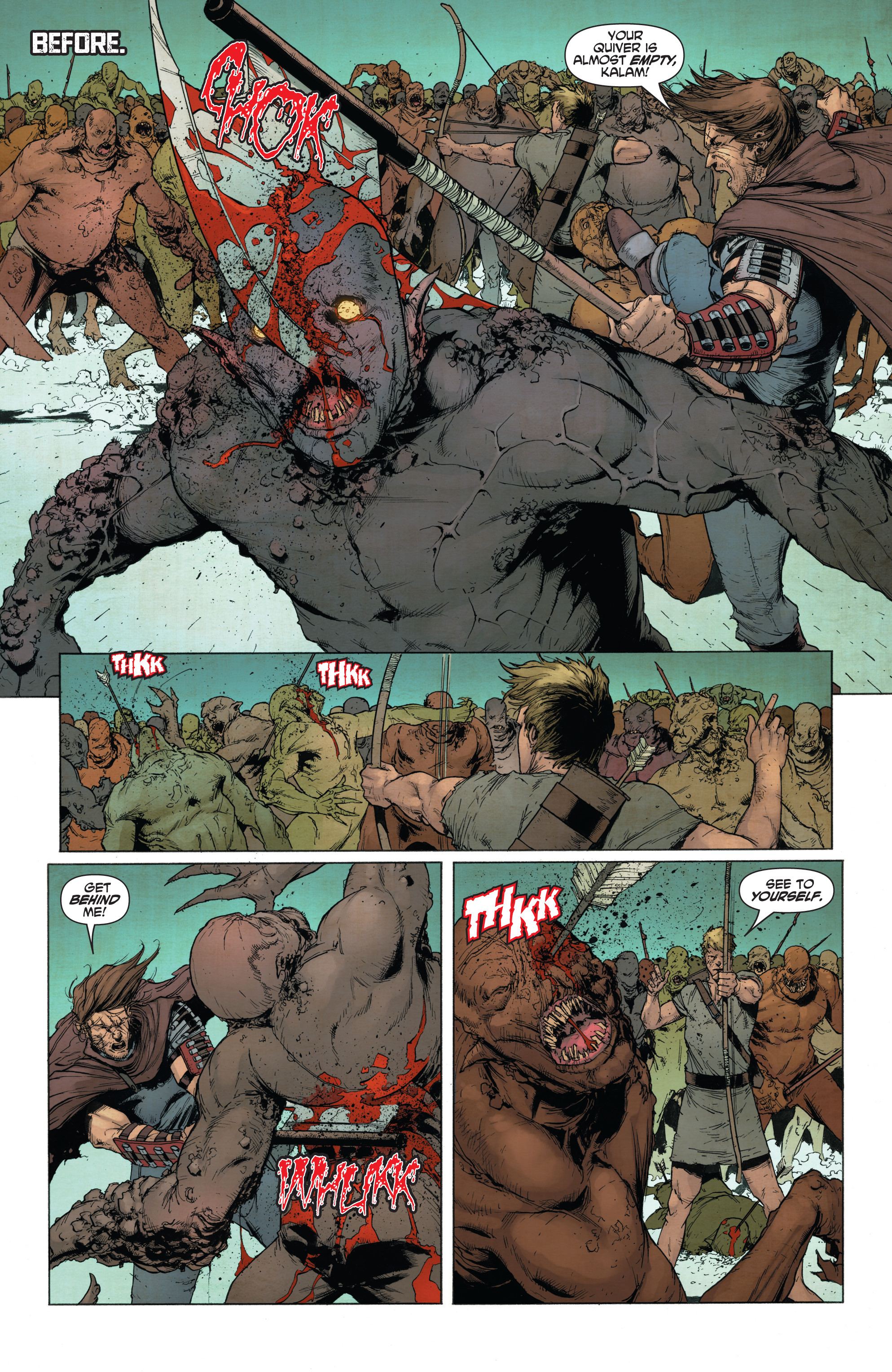 Read online Wrath of the Eternal Warrior comic -  Issue #14 - 10