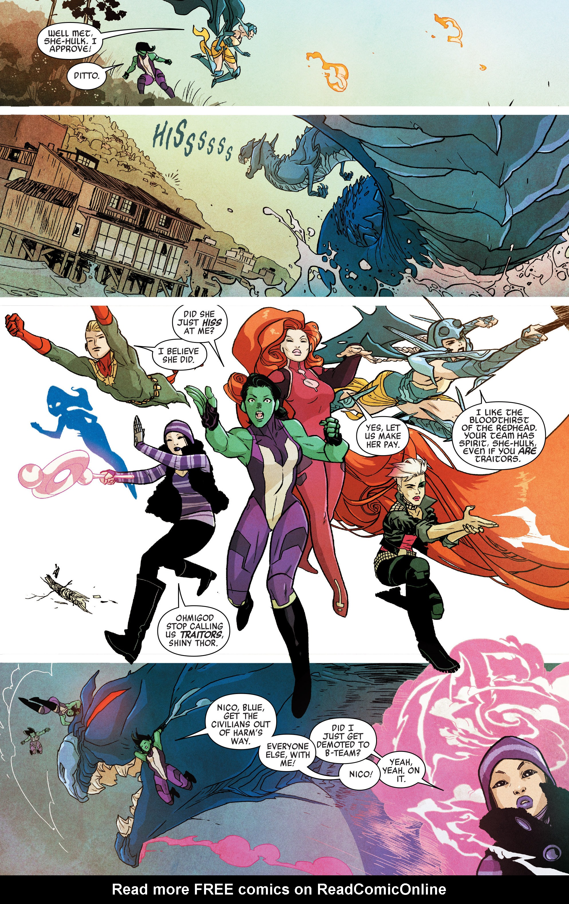 Read online A-Force (2016) comic -  Issue #5 - 10