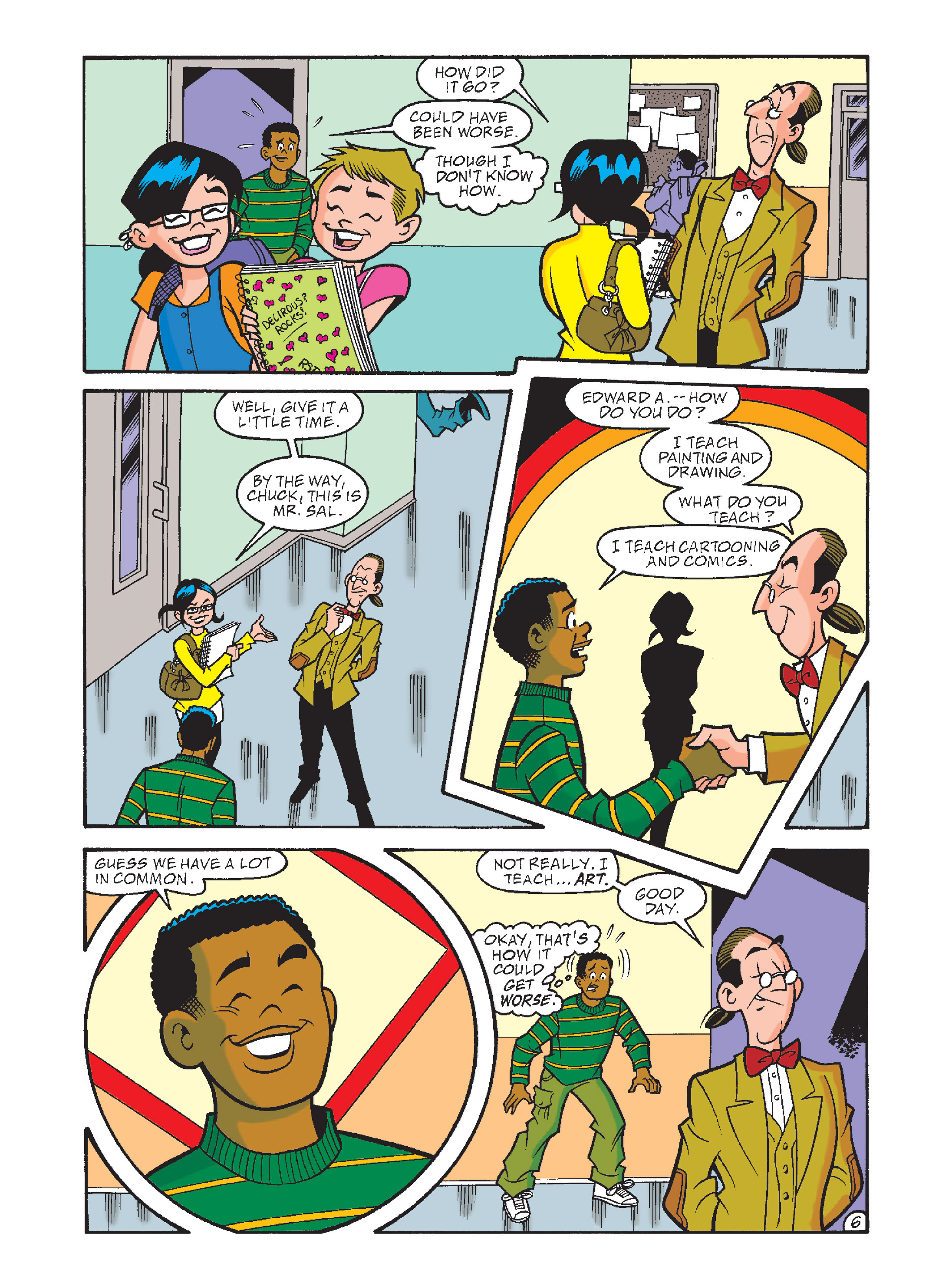 Read online Archie's Funhouse Double Digest comic -  Issue #8 - 41