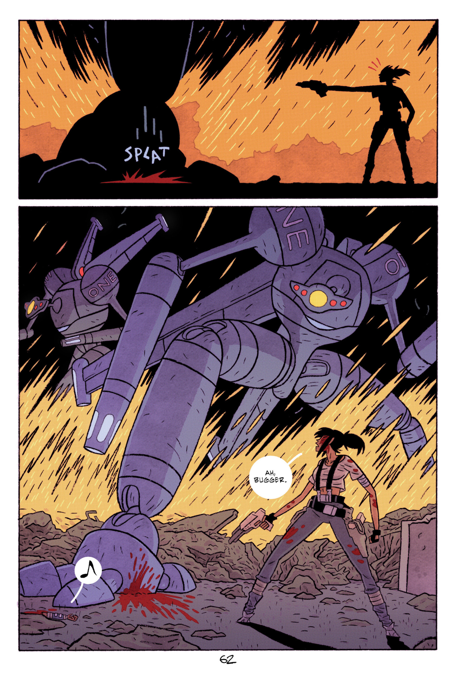 Read online ApocalyptiGirl: An Aria for the End Times comic -  Issue #ApocalyptiGirl: An Aria for the End Times Full - 70