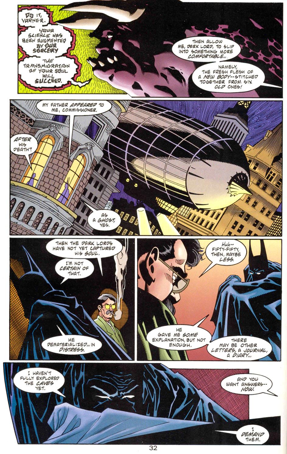 Read online Batman: Haunted Gotham comic -  Issue #1 - 34