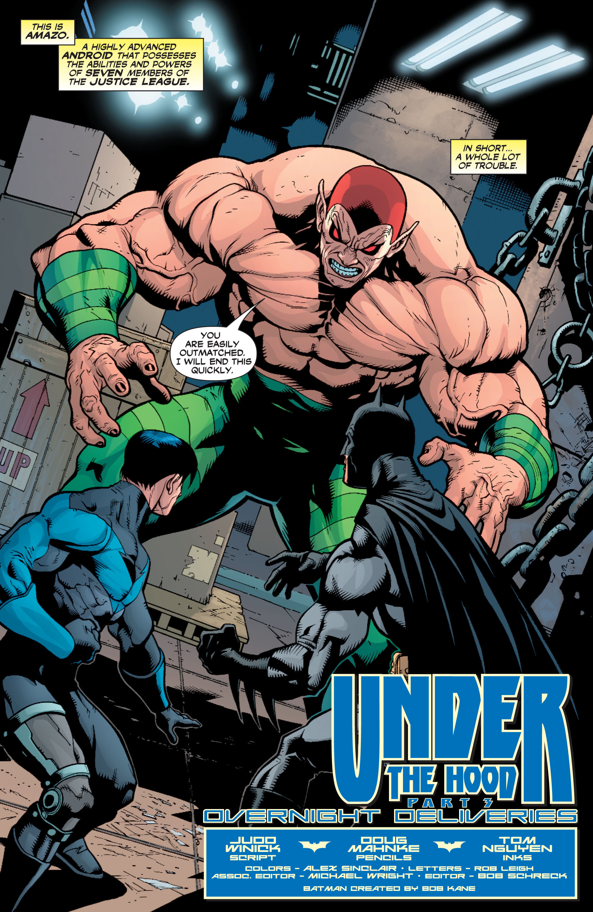 Read online Batman: Under The Red Hood comic -  Issue # Full - 60