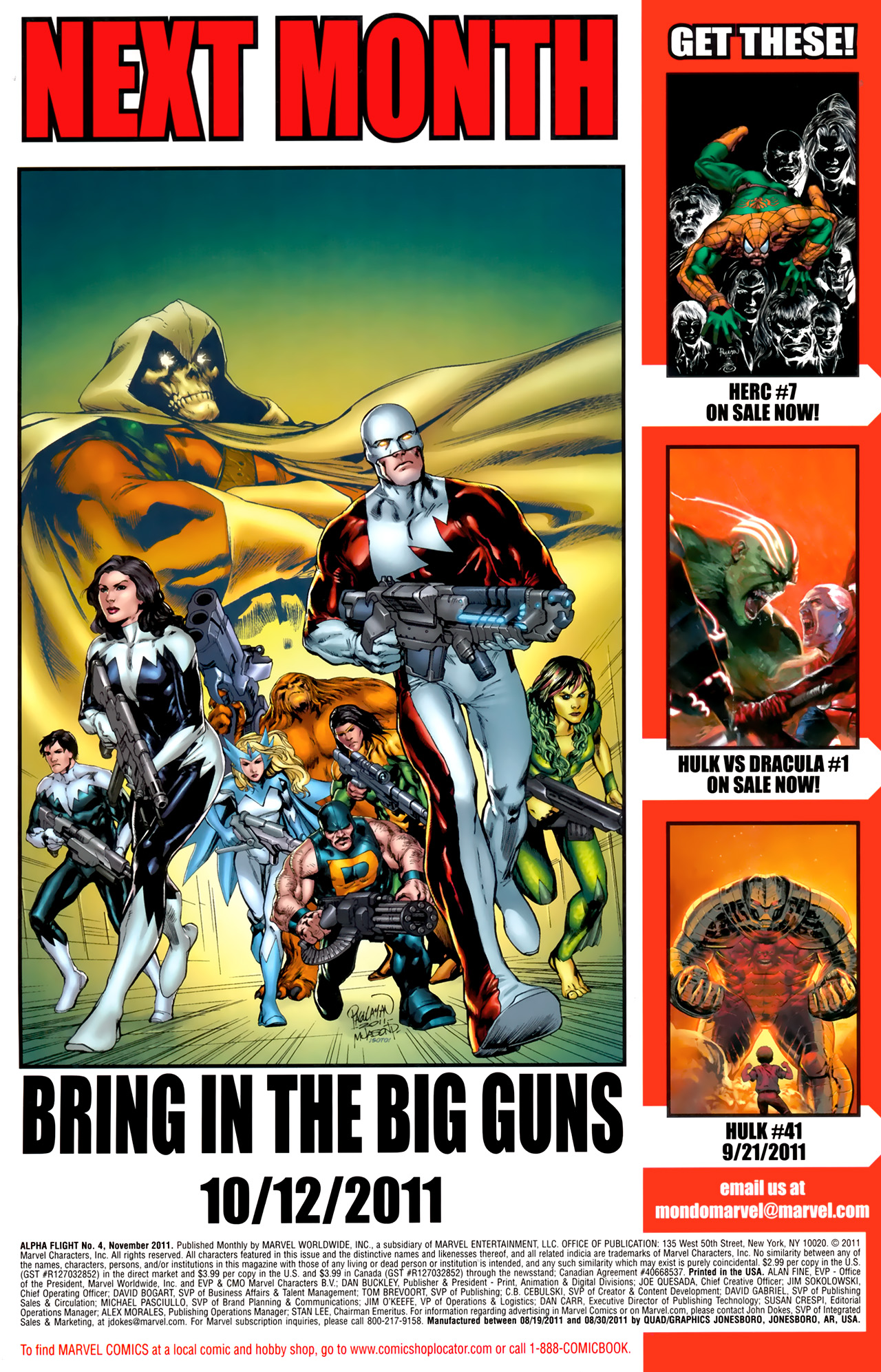 Read online Alpha Flight (2011) comic -  Issue #4 - 24