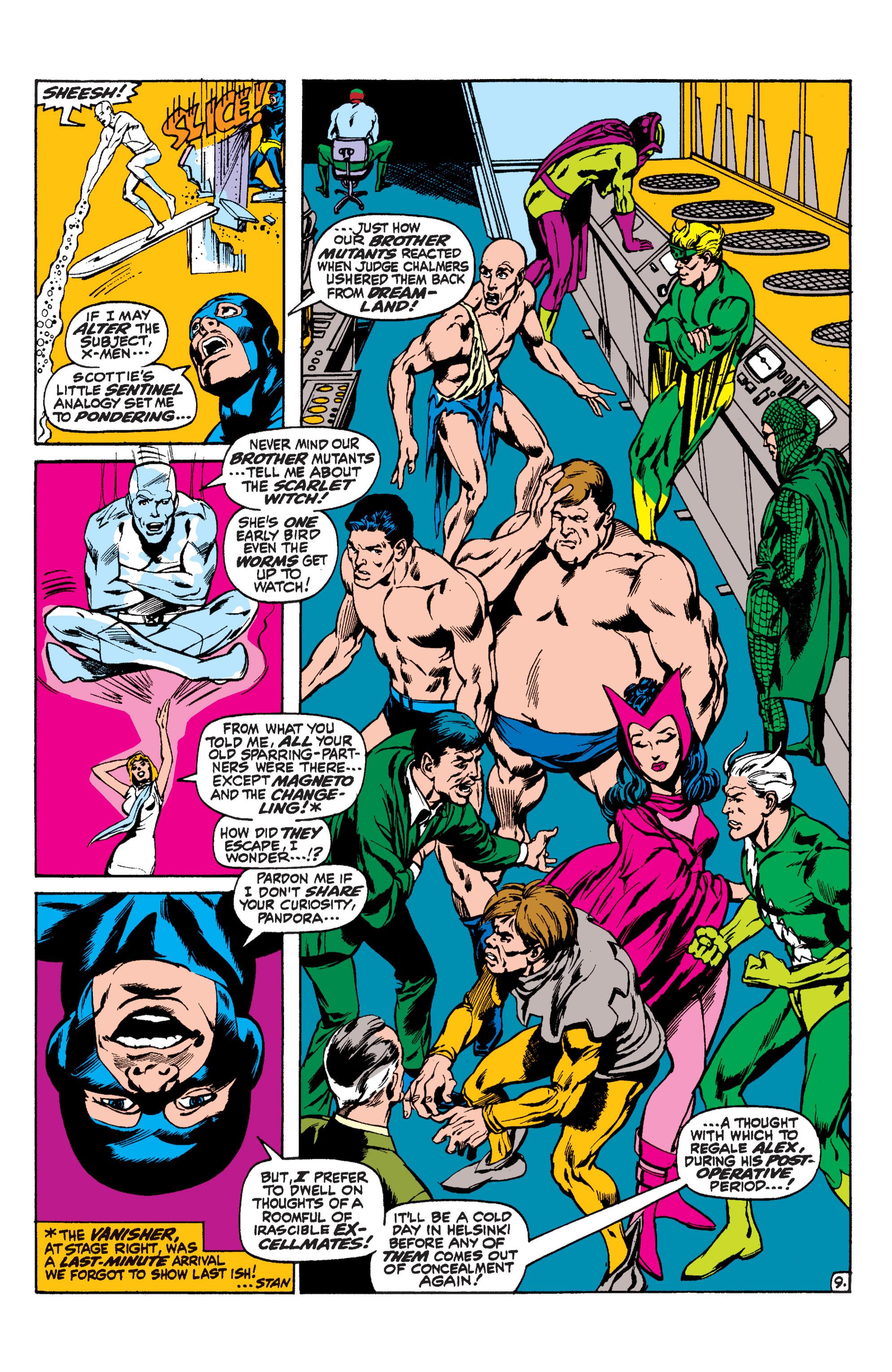 Read online Uncanny X-Men (1963) comic -  Issue #60 - 9