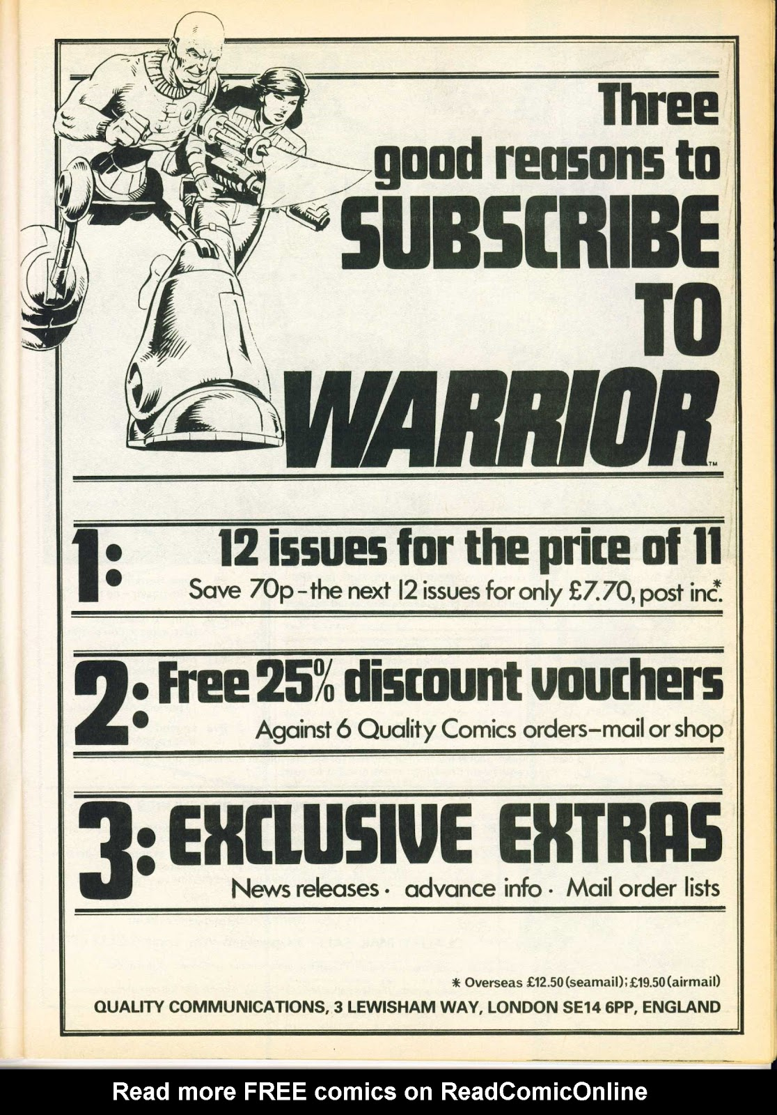 Warrior Issue #20 #21 - English 11