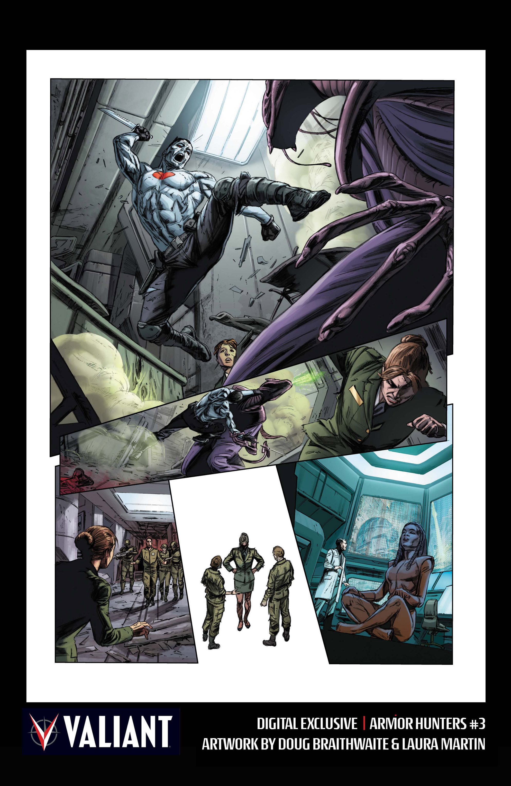 Read online Armor Hunters comic -  Issue #3 - 32