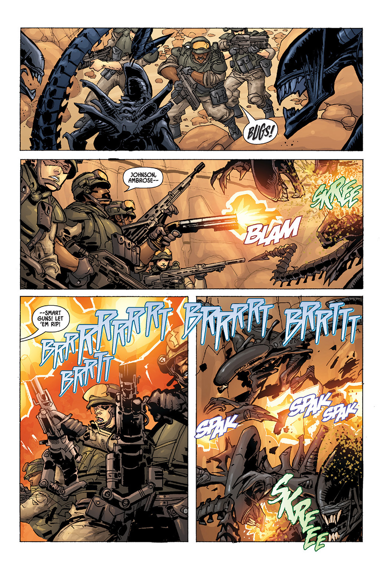 Read online Aliens vs. Predator: Three World War comic -  Issue #3 - 15